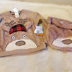Bunz Kids Sleepwear Pajama Top & Backpack